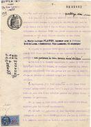 VP10.975 - Acte De 1948 - La Société Electric Auto VAISE Contre Mr CARET Gérant Du Café Du Musé à LYON - Electricity & Gas