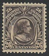 Philippines, 26 C. 1906, Sc # 249, Mi # 245, MH. - Philippines