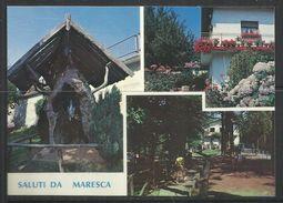 ITALIA ITALY SALUTI DA MARESCA (PISTOIA) MADONNA DELLE GINISTRE CARTOLINA POST CARD NUOVA UNUSED - Souvenir De...