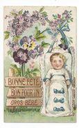 ENFANTS - BÉBÉS - Jolie Carte Fantaisie Enfants Bébé- - Portraits