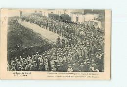 GUERRE De  1914/18 - Saint Nazaire : Prisonniers Allemands Escortés Par Des Anglais - 2 Scans - Guerre 1914-18