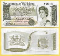 St Helena 1 Pound P-9a 1981 UNC - Sainte-Hélène