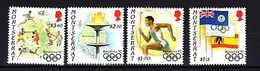 Montserrat 1992 Olympics MNH - Jeux Olympiques
