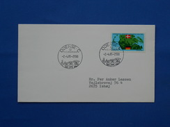 Dog, Hans Christian Andersen - Postzegels