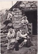 Folklore De France L Ariege Cabane Du Patre Fabrication Du Beurre Barate Gaby - France