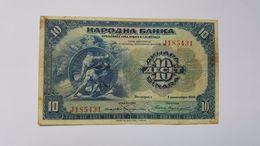 SERBIA 10 DINARA 1920 - Serbia