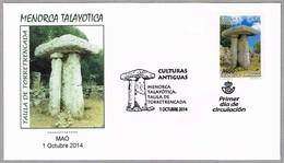 Menorca Talayotica - TAULA DE TORRETRENCADA - Stone Monument. Mao, Baleares, 2014 - Préhistoire