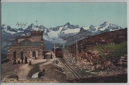 Zermatt - Gare Du Gornergrat - Animee - Photo: Jullien Freres - VS Valais