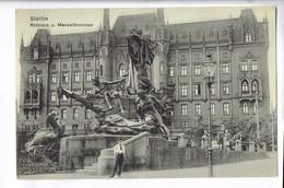 43123 STETTIN RATHAUS U MANZELBRUNNEN - Pommern