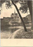 X119 Paris - Notre Dame - Vue Du Quai D'Orleans - Barche Boats Bateaux / Viaggiata 1966 - Notre Dame De Paris