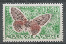 Malagasy Republic 1960. Scott #307 (MH) Butterfly, Papillon - Madagascar (1960-...)