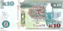 Zambia - Pick 58 - 10 Kwacha 2015 - Unc - Zambie
