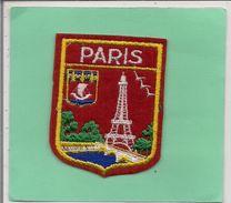 Ecusson  Tissu  -       PARIS    Tour Eiffel - Blazoenen (textiel)