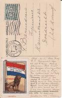 269628Nederlandsche Vereeniging Ons Leger (Kaart Uit 1915 Met Vignette) - Guerres - Autres