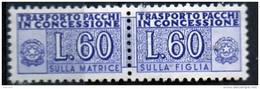 PIA - Specializzazione  :  PACCHI CONCESSIONE : £ 60 - (SAS 7/II - CAR 29) - 1946-.. Republiek