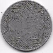 Maroc 1 Franc Empire Cherifien - Morocco