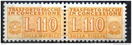 PIA - Specializzazione  :   PACCHI CONCESSIONE : £ 110 - (SAS 13/II - CAR 33) - Pacchi In Concessione