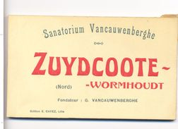 Carnet De 14 CPA Zuydcoote Wormhout  Sanatorium  Vancauwenberghe - Wormhout