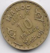 Maroc 10 Francs 1371 - Morocco