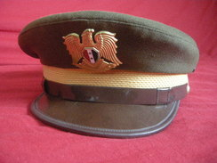 Casquette Officier Syrie - Casques & Coiffures