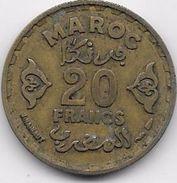Maroc 20 Francs 1371 - Morocco