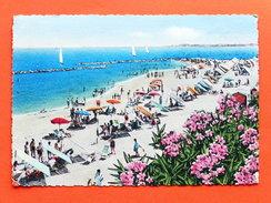 Cartolina Viserba - Spiaggia - Ora Del Bagno - 1958 - Rimini