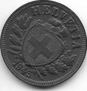 Switserland 2 Rappen  1943 Km 4.2b    Xf+ !!! - Suisse