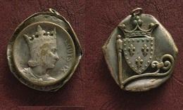 FRANCE - MEDAILLE - Louis IX / Ecu De France Couronné - Royaux / De Noblesse