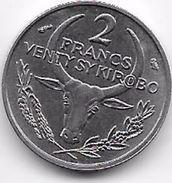 Madagascar 2 Francs 1965 - Madagascar