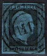 1414 Sorau Auf 2 Sgr. Graublau - Preussen Nr. 3 - Preussen