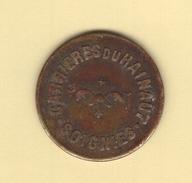 Jeton Des Carrières Du Hainaut à Soignies. Jeton De 10 Cts. En Bon étét - Monetary / Of Necessity