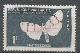 Malagasy Republic 1960. Scott #309 (MH) Butterfly, Papillon - Madagascar (1960-...)