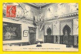 BLIDA Rare Salle D'Honneur Du 1° Rgt De Tirailleurs Algériens (C.R) Algérie - Blida