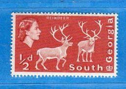 (Mn1)  SOUTH GRORGIA **-1963 -  REINE, ELIZABETH . Yvert. 38a. DENT. 14 X 15  MNH.  Vedi Descrizione. - Georgia Del Sud