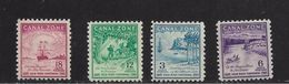 ZONE DU CANAL 1949 RUEE VERS L'OR  YVERT N°1123/16 NEUF MH* - Canal Zone
