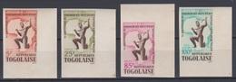 Togo 1964  N° 416 - 419  1° Anniversaire De La Liberation De L'afrique  Imperf ND MNH - Togo (1960-...)