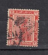 Egypte Perfin Perforé  ABE   YT N°70 - Oblitérés