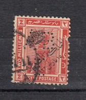 Egypte Perfin Perforé  ABE   YT N°70 - Egypt