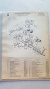 FIAT X1\9 USA 1979  Weber Carburettor Original Parts Catalog - Cars