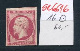 Frankreich  Nr.  9b   - Stempel... (se6616  ) Siehe Scan !! - 1852 Louis-Napoléon