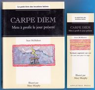 CARPE DIEM LE PETIT LIVRE DES LOCUTIONS LATINES NEUF AVEC MARQUE PAGE - SITE Serbon63 DES MILLIERS D'ARTICLES EN VENTES. - Books, Magazines, Comics
