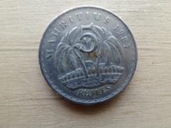 Maurituis  5  Rupees  1987 Km 56 - Mauritius