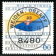 Berlin - Mi 873 - Zentrisch OO Gestempelt (A) - 80Pf  Katholikentag - Berlin (West)