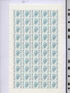 12F Elstrom 1648.P   Une Feuille Entière   N° De Planche 2  Daté 6 Jan 92 - 1970-1980 Elström