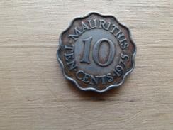 Maurituis  10  Cents  1975  Km 33 - Mauritius