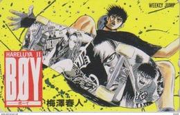 Télécarte Japon / 110-187929 - MANGA - WEEKLY JUMP - BOY / HALLELUJAH - ANIME Japan Phonecard - 8776 - Comics
