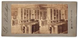 Vue Stéréoscopique-Photo Photographe Inconnu,  Vue De Paris-Versailles, Bibliothek - Fotos Estereoscópicas