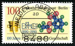 Berlin - Mi 875 - Zentrisch OO Gestempelt (A) - 100Pf  Pharmazeutische Gesellschaft - Berlin (West)