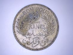 TUNISIE - TUNISIA - Bon Pour 2 Francs Tunisie - Colonie Française - 1945 - Túnez