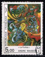 """Frankreich 1984, Michel# 2469 O Andre Masson """"The Pythia"""" - Frankreich"""